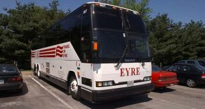 An Eyre Tours and Travel bus in 2003 (File photo)