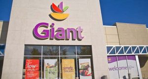 Giant Food opened this new grocery store at the Lyon Village Shopping Center in Alexandria, Virginia Nov. 16. The store announced it will spend $175 million in opening a new location and for expansion and improvement of existing stores over the next two years. (File photo)