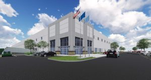 MRP Industrial plans to build a speculative warehouse/industrial building in the Jessup section of Howard County. (Rendering Courtesy MRP Industrial)