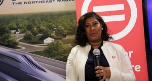 Tiffany Majors, the first woman to head the Baltimore chapter of the Urban League. (Adam Bednar)