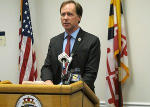 """""""We were the only county in central Maryland that did not have (a fair housing ordinance),"""" said Anne Arundel County Executive Steuart Pittman. (AP File Photo/Brian Witte)"""