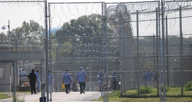 The Jessup Correctional Institution. (The Daily Record/Maximilian Franz).