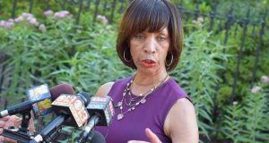 Mayor Catherine Pugh, shown at a 2017 appearance. (File Photo)