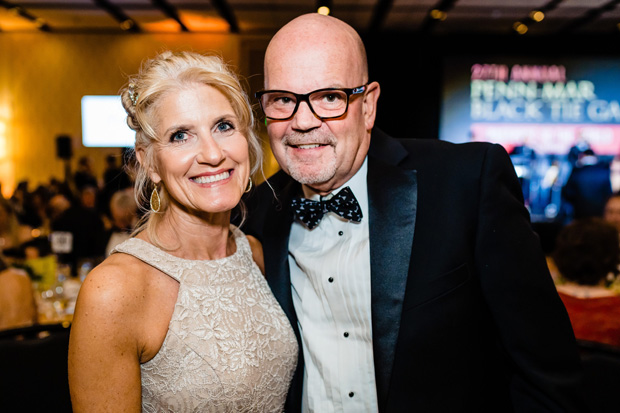 Robin and David Stang were on hand for Penn-Mar Human Services' 27th annual Black Tie Gala. (Photo by SMJ Photography)