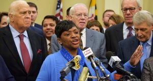 Del. Adrienne Jones, D-Baltimore County and House Speaker Pro Tem. (The Daily Record / Bryan P. Sears)