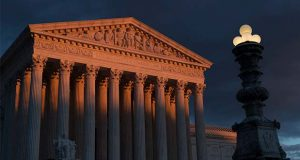 The Supreme Court building. The justices (AP Photo/J. Scott Applewhite, File)
