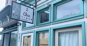 The 2 Chic Boutique, owned by Mayor Catherine Pugh and City Comptroller Joan Pratt, which is now closed. (Bryan P. Sears)