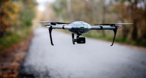 The Atlas Pro unmanned aerial vehicle. (Business Wire photo)