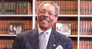 Portirat of Chief Judge Robert M. Bell in his Baltimore City Circuit Court Chaimbers. MF-D 11/30/04.