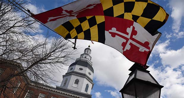 The Maryland State House in 2019. (Maximilian Franz / Special to The Daily Record)