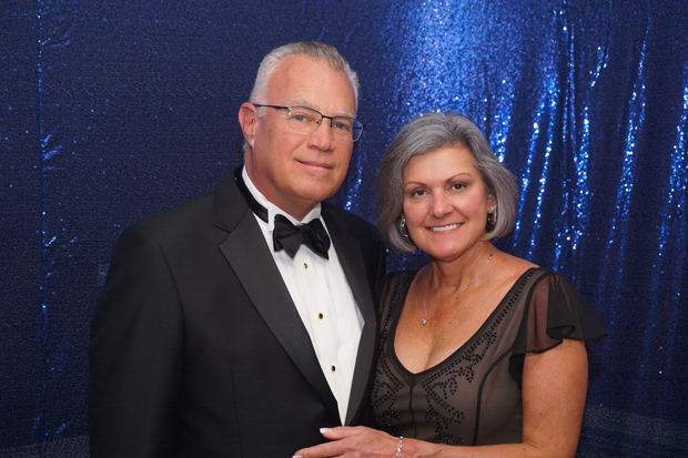 Bruce McMillin, vice president with EN Engineering, and Kathy McMillin pose for a photo during the After d'Arc Gala. (Photo by The Arc Northern Chesapeake Region)