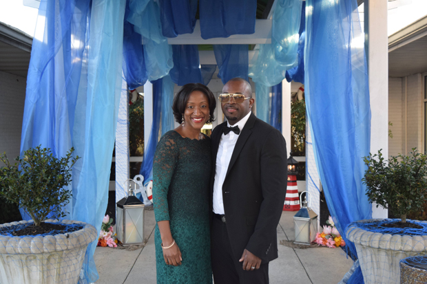 Detra Miller, business banking team leader and administrative vice president of M&T Bank, attended the the After d'Arc Gala with her husband, Cory Miller. M&T Bank was title sponsor for the annual event. (Photo by The Arc Northern Chesapeake Region)