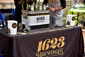 The 1623 Brewing Company participated in the Maryland Craft Beer Festival in Frederick in May 2019. (Submitted photo by Rachel Bradley)