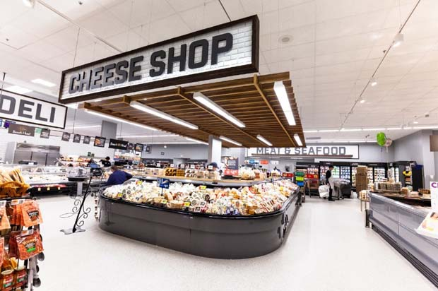 Giant Food store in Olney, which opened earlier this year, that features the updated store format that the new Owings Mills location will have. (PRNewswire photo/Giant Food)
