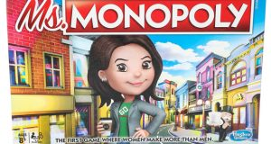 """Ms. Monopoly"" incorporates the gender pay gap into the classic boardgame. MUST CREDIT: Hasbro"