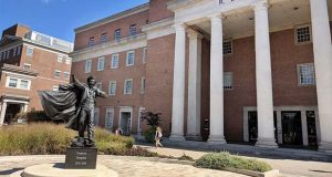 The R. Lee Hornbake Library at University of Maryland, College Park. (The Daily Record / Tim Curtis)