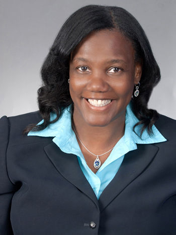 Yolanda Ogbolu, Ph.D., MS, BSN, CRNP, FNAP, FAAN, chair of the Department of Partnerships, Professional Education and Practice with the University of Maryland School of Nursing.