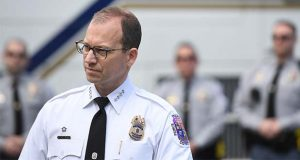 Prince George's County Police Chief Hank Stawinski. (Washington Post photo by Matt McClain)