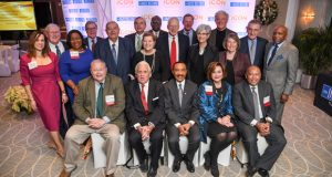 Winners of The Daily Record's 2019 Icon Honors were celebrated at an awards event Dec. 16 at The Center Club in Baltimore. A total of 26 men and women were honored at the third-annual event. (Photo by Maximilian Franz)