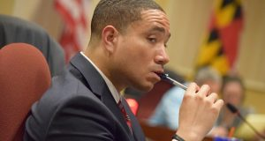 "Sen. William ""Will"" Smith, chair of the Senate Judicial Proceedings Committee. (The Daily Record/File photo)"