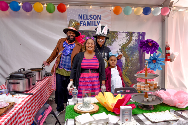 "The Nelson Family returned to Stars, Stripes & Chow to defend their ""Best Chili"" title with an Alice in Wonderland theme. (Photo courtesy of The Baltimore Station)"