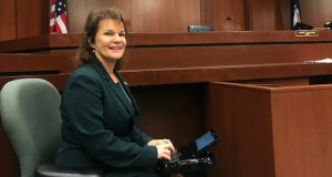 Court reporting requires sitting, concentrating and typing for long stretches of time. Here's how Donna Linton takes care of her mind and body. MUST CREDIT: Natalia Thomas