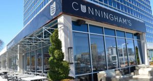 The new restaurant replacing Cunningham's at 1 Olympic Place will be designed by Patrick Sutton of Patrick Sutton Associates, the design team behind several award-winning area restaurants, and will feature an expanded bar and intimate dining space. (File photo)