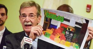 Maryland Attorney General Brian Frosh. (The Daily Record / Bryan P. Sears)