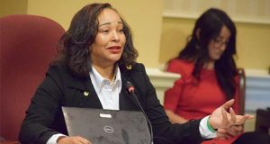 Sen. Jill Carter, D-Baltimore City. (The Daily Record / Bryan P. Sears)