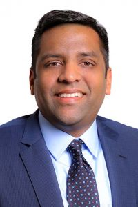 Syed Husain, senior vice president and head of contract development and manufacturing at Emergent Biosolutions. (Emergent BioSolutions submitted photo)