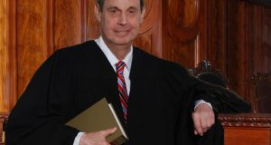 U.S. Bankruptcy Judge James F. Schneider, who retired in 2017 after 35 years on the bench. (Photo courtesy of the Bar Association of Baltimore City)