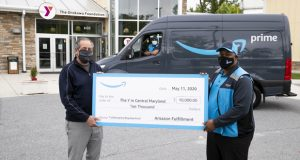 Amazon donation to Y in Central MD on May 18, 2020
