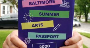 The partnership hopes to distribute Baltimore Summer Art Passports to 10,000 youngsters. (Submitted Photo)