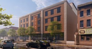 A rendering of The Brixton at 421 S. Broadway in Baltimore's Fells Point neighborhood. (Courtesy Chasen Constuction and Development)