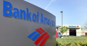 FILE - A Bank of America branch is shown in a Charlotte, N.C. file photo from April 20, 2006. Bank of America said Thursday March 22, 2012  it has begun a pilot program offering some of its mortgage customers who are facing foreclosure a chance to stay in their homes by becoming renters instead of owners. (AP Photo/Chuck Burton, File)
