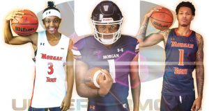 The uniform and apparel agreement with Under Armour will last for five-years and the affiliation will debut Nov. 25 with the first game of the men's and women's basketball seasons. (Photo courtesy of Morgan State University)