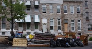 Maryland lawmakers will consider legislation that gives tenants a statutory right to counsel at eviction hearings. (The Daily Record/File Photo)