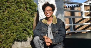 Naadiya Hutchinson is working to provide 'a sense of normalcy' in Waverly in the winter of 2020. (Capital News Service/Sara Chernikoff)