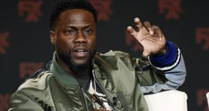 Kevin Hart takes part in a panel discussion in Pasadena, California, on Jan. 9, 2020. The 4th U.S. Circuit has upheld a lower court's decision to dismiss a $7.2 million lawsuit brought against Hart for alleged breach of contract. (AP File Photo/Chris Pizzello)