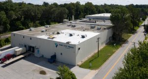 Garver Development Group acquired the 177,000 square foot facility at 1323 Greenwood Road late last year and immediately proceeded with plans to transform the project to support self-storage, vehicle storage and light industrial and manufacturing uses. The former owner closed the Port City Press plant in early 2018 and the site has remained dormant and unused. (Submitted photo)