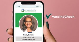 County Residents and Employees now have access to an authenticated, personalized digital vaccine card to privately share their health status and ensure they never lose their proof of vaccination.