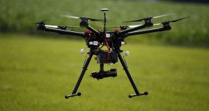 Long Lake Township in Michigan had used photos taken by a drone to bolster its claim that a couple had violated a zoning ordinance and a prior settlement agreement.(AP Photo/Alex Brandon)