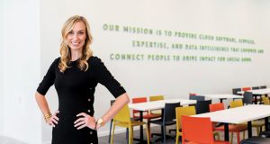Catherine Cook LaCour serves as chief marketing officer for Blackbaud, a Charleston software and services company serving social good organizations across the globe. (Photo/Provided)