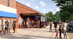 A 15-month project to renovate Eddie's of Roland Park is scheduled to begin this summer. Upgrades planned as part of the renovation will include a new cantilevered steel above the main entrance.