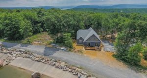 Deep Creek property owned by the Alster family in Garrett County taken in August 2020.  In March, sales in Garrett were up 71% compared to the previous March, while average prices more than doubled to $567,688. (Kimberly Alster)