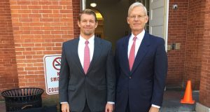 From left, Daniel Whitney Jr. and Daniel Whitney Sr., whose law firm specializes in bed bug cases. (Submitted Photo)