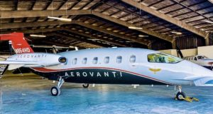 The private aviation industry is set to emerge from the pandemic in stronger shape than before the virus struck, according to new research. The seven-seat Piaggio P.180 is pictured.