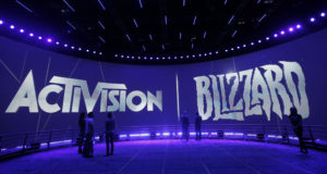 """This June 13, 2013 file photo shows the Activision Blizzard Booth during the Electronic Entertainment Expo in Los Angeles. Activision Blizzard, one of the world's most high-profile video game companies, confirmed an SEC probe and said it is working to address complaints of workplace discrimination. The Santa Monica, California, company said Tuesday, Sept. 21, 2021, that it is complying with a recent Securities and Exchange Commission subpoena sent to current and former employees and executives and the company itself on """"employment matters and related issues."""" (AP Photo/Jae C. Hong, File)"""